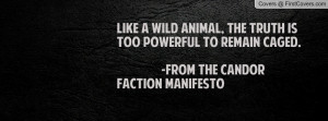 Candor Faction Quote