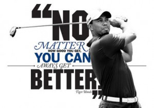 Inspirational Quotes from the Top Athletes #3 – Tiger Woods