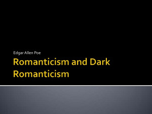 Dark Romanticism Quotes Romanticism and dark