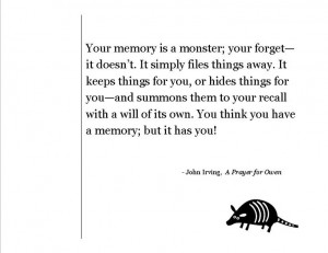 ... memory; but it has you!