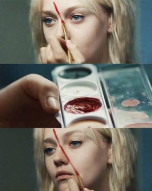 blonde-blue-eyes-dakota-dakota-fanning-fanning-makeup-Favim.com-70273 ...