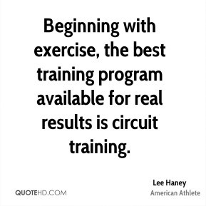 Lee Haney - Beginning with exercise, the best training program ...