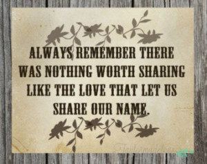 Always Remember (Avett Brothers) - Typography Print ...