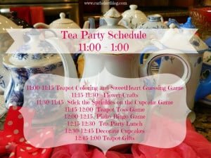 Little Girl Tea Party Ideas