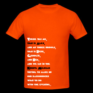 Alex Quote Color (A Clockwork Orange) T-Shirts