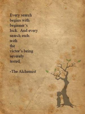 the alchemist quotes