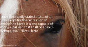 Bret Harte Quote