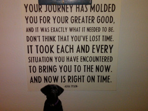 YOUR JOURNEY HAS MOLDED