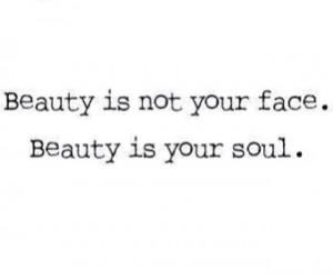 Beauty is on the inside