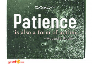 Patience Quotations