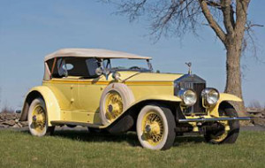 1928 Rolls-Royce 40/50hp Phantom/Ascot Dual Cowl Sport Phaeton