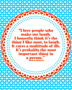 Printable Quote about Laughter