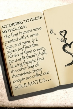 ACCORDING TO GREEK MYTHOLOGY:The first humans were created with 4 arms ...