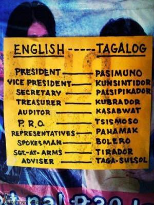Leader sa Classroom : Pinoy joke picture