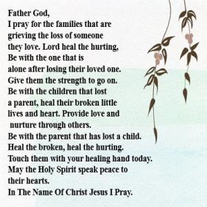 prayer susan nikitenko prayer grieving hurting death loss poetry and ...
