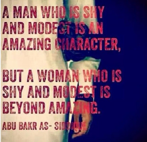 Modesty difference in men & women in Islam. Subhanallah. Shared from @ ...