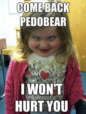 Funny Scared Girl