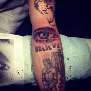 IlluminatiWatcherDotCom Bieber Tattoo Illuminati