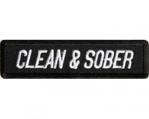 Clean and Sober Patch
