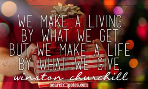 ... ~ Christmas Giving Quotes | Quotes about Christmas Giving | Sayings