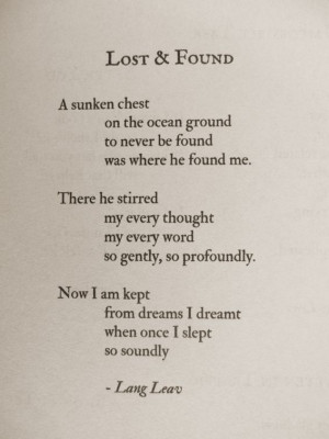Lost & Found #poems #quotes #love: Life Quotes, Poems Lang Leaves ...