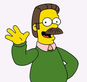 Ned Flanders è un superdotato! Clicca e guarda l'incredibile ...