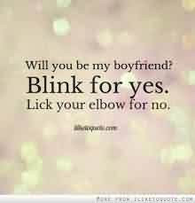 New Cute Short Love Quote For Him-Lick Your Elbow For No.