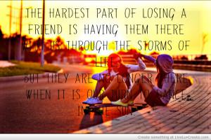Sad Quotes Losing Friends...