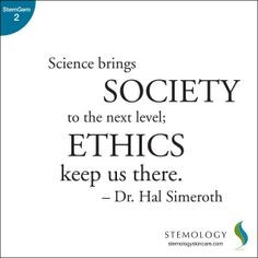 ... ethics keeps us there.