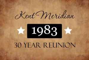 30 Year Class Reunion Invitation by PurpleTrail.com.