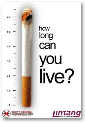 WAR against SMOKING – Issued in public interest