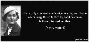 More Nancy Mitford Quotes