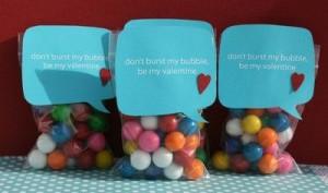 bubble gum treat bags