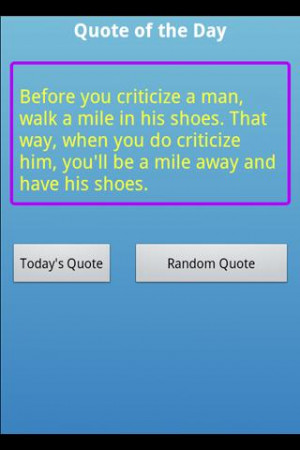 Funny Quote of the Day Screenshots