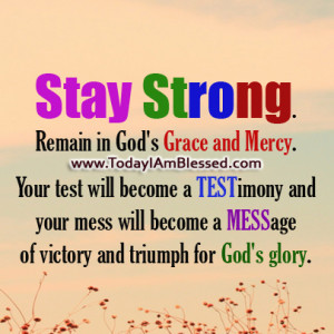 of victory and triumph for God's glory.
