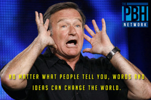 ... poignant, hilarious, and all around wonderful Robin Williams quotes