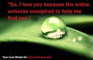 ... tags for this image include: love, love quotes, quotes and universe