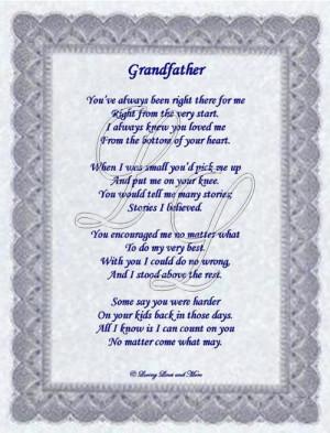 happy birthday grandpa poems