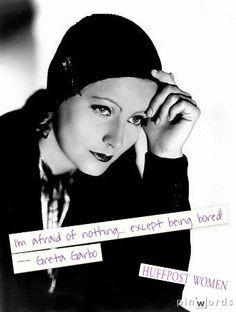 ... greta garbo quotes lead lady pragmatics considerate born september