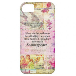 Shakespeare Quote iPhone Cases