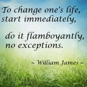 Living life flamboyantly is the only way to live!