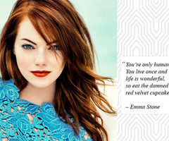 Emma Stone Quotes Emma stone