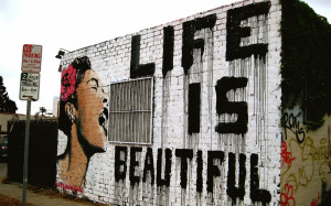 urban art graffiti mood happy motivational inspiration women statement ...