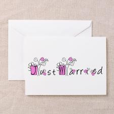 Just Married Announcements Cards (6) for