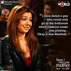 How I Met Your Mother Quotes Marshall Himym- sweet lily and marshall