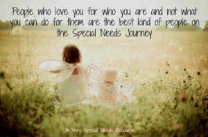 Special Needs Quotes The special needs journey.