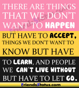 happen accept learn quotes status update