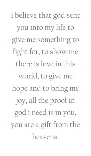 bring me joy all the proof in god i need is in you you are a gift from ...