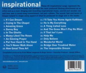 Elvis Presley Elvis Inspirational Album Cover