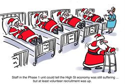 Staff in the Phase 1 unit could tell the High Street economy was still ...